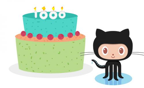 Happy 1000 PR